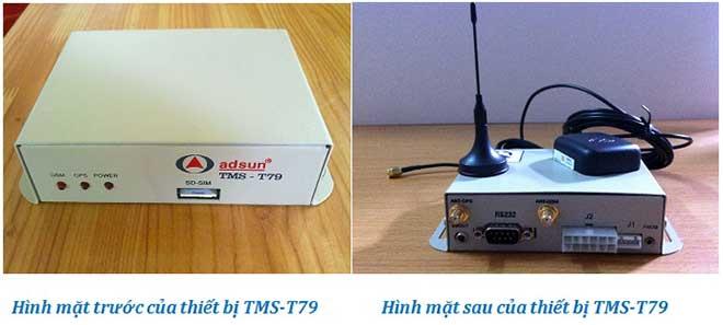 Hộp đen Adsun TMS-T79 thiết bị định vị GPS giám sát hành trình ô tô - xe hơi