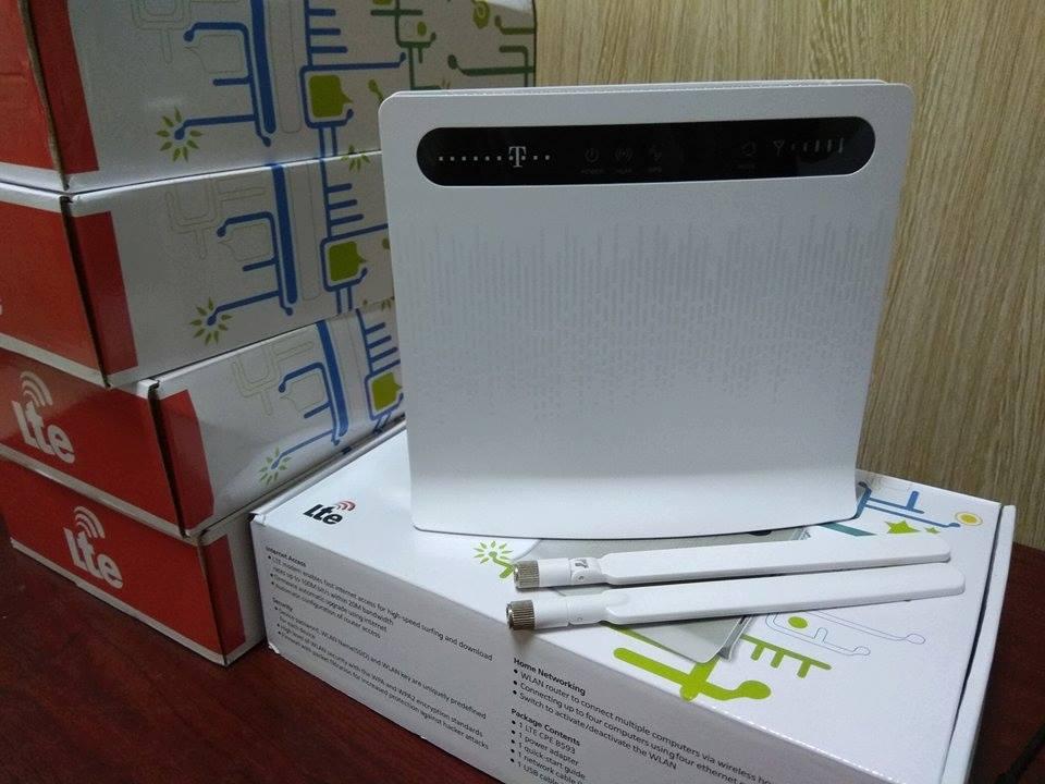 MODEM PHÁT WIFI 3G & 4G HUAWEI LTE CPE B593