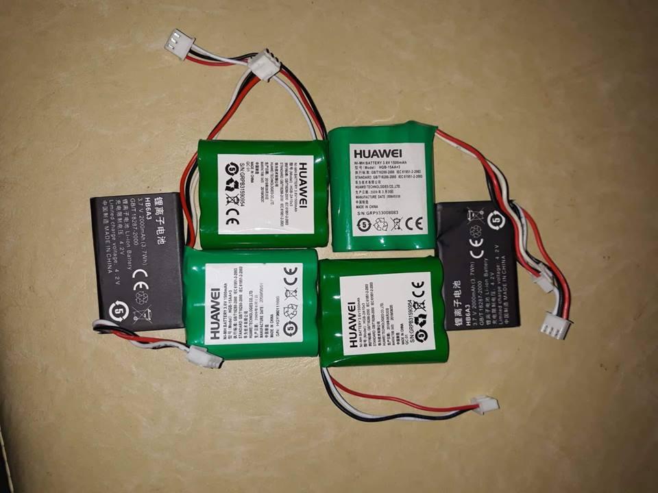 PIN NGUỒN 3,6V 1000mAh - 1500mAh dùng cho máy điện thoại homephone và gphone