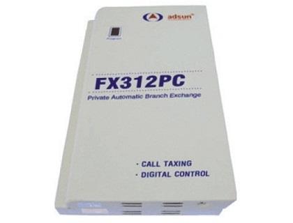 Tổng đài điện thoại Adsun FX312PC 12 máy nhánh